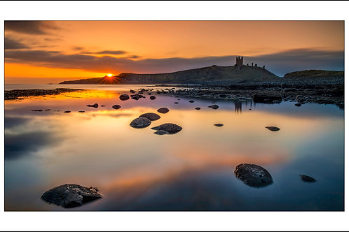 Crack of Dawn at Dunstanburgh Castle