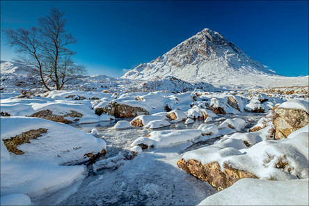 Cold morning at Buachaille Etive Mòr