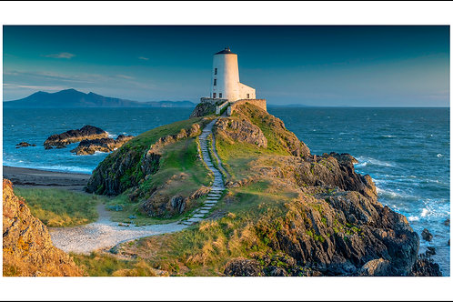 Llanddwyn Island Lighthouse print