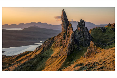 First Light at the Old man of Storr, Isle of Skye