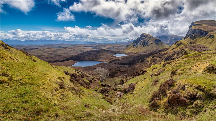 Quiraing (Meall na Suiramach), Isle of Skye