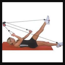 Laying Pulley Door-Gym