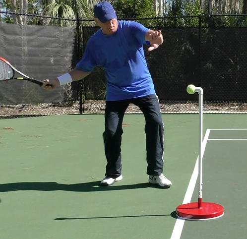 Tennis-SEER™ Stationary practice device