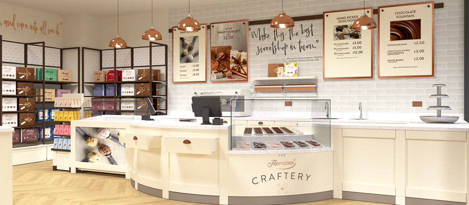 A new look for Thorntons retail developed by fisch design