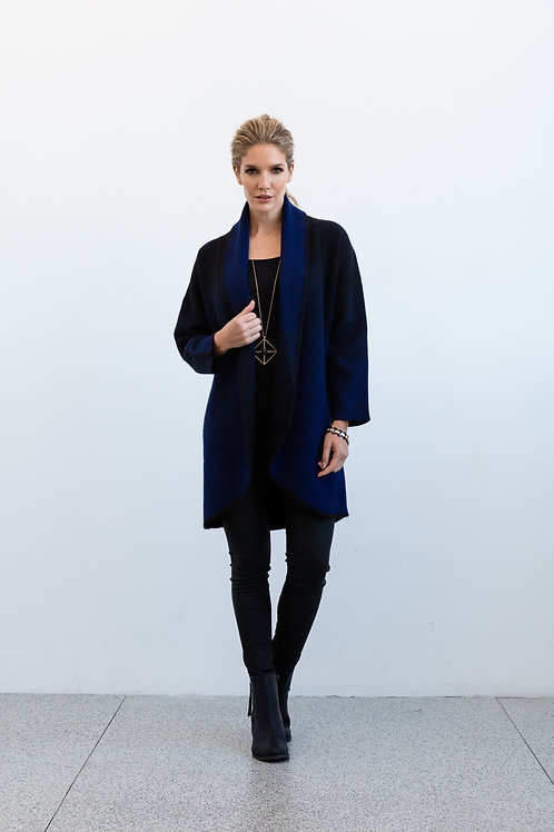 Navy Gradient Jacket