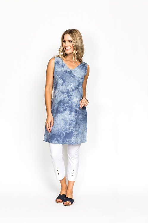 Sponge Print Dress