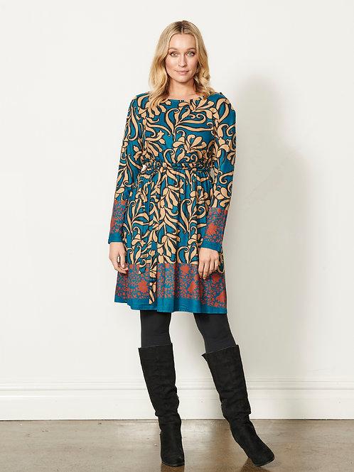 Swirl Print Dress