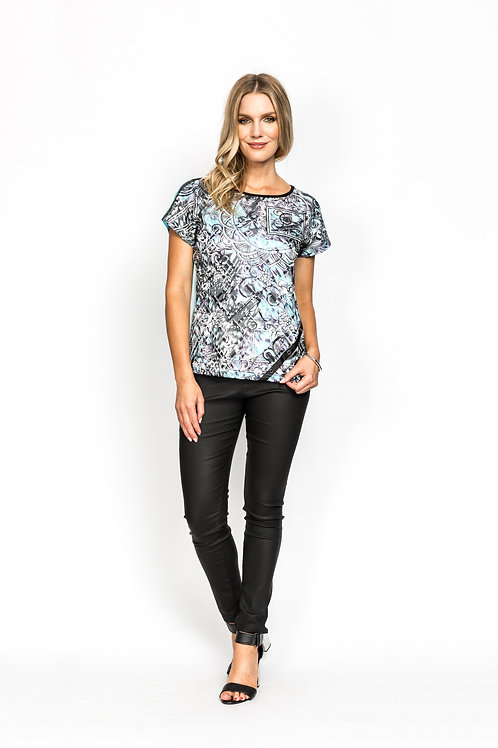 Net Front Top with Diamontes