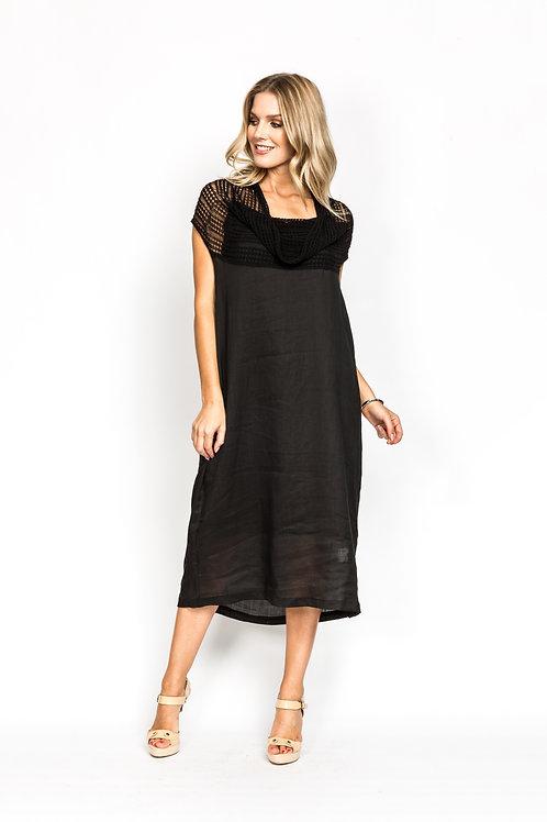 Two Piece Dress with Net