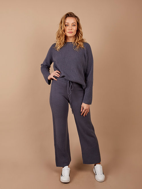 Special Knit Pant in Grey
