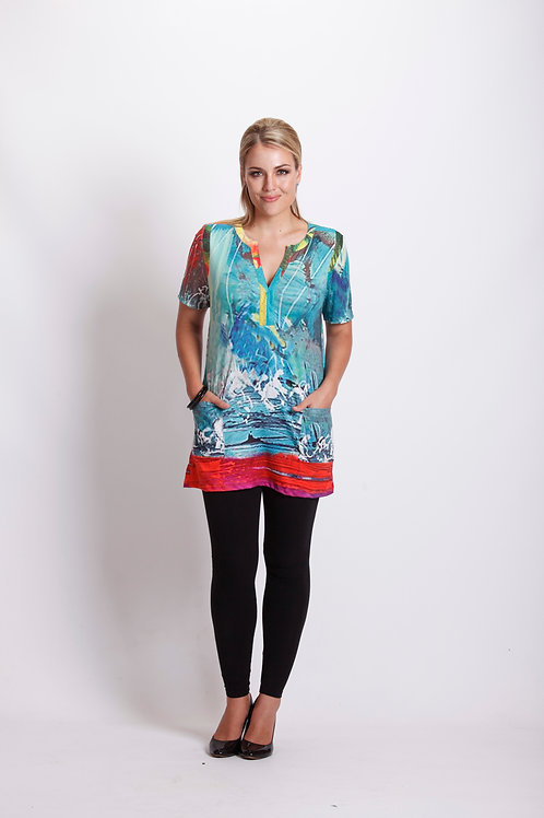 Water Colour Tunic