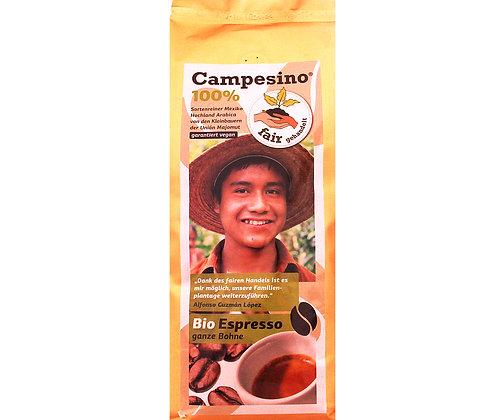 Campesino 100%  Arabica, Bio Espresso ganze Bohne