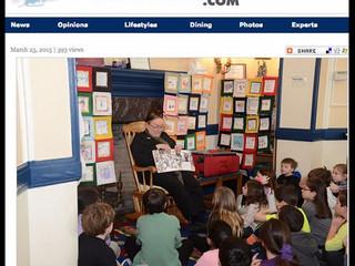 Ed. Foundation sponsors author visit