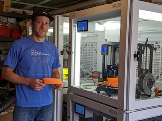 Rockville Centre schools staff contributes 3D-printed face shields to hospitals. The Rockville Centr