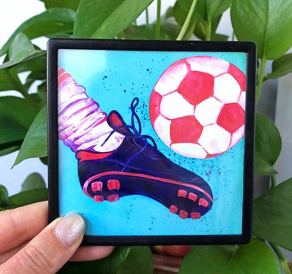Soccer Play- Magnet