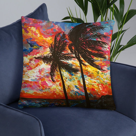 Electric Sky - Pillow
