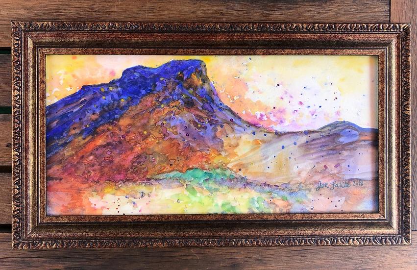 "Copper Mountains - Original 8x14"""