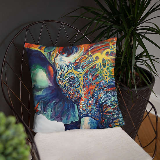 Olifant - Throw Pillow