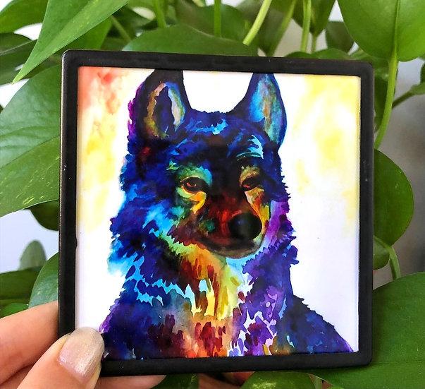 Technicolor Wolf - Magnet