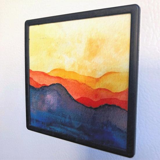 Summer Mountains - Magnet