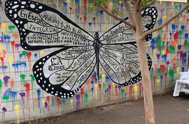 Newspaper Butterfly