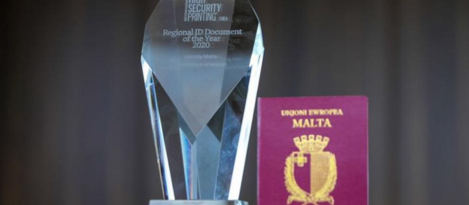 "Maltese Passport Banks ""Best ID"" Accolade"