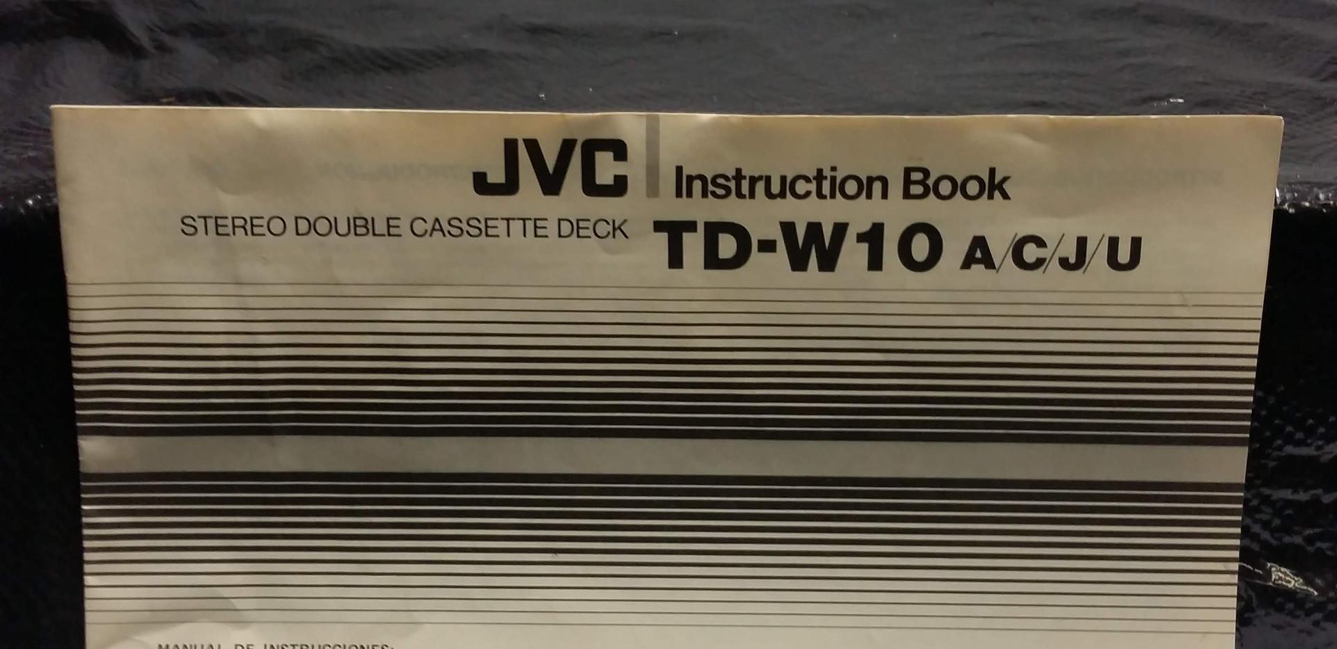 JVC Cassette Player