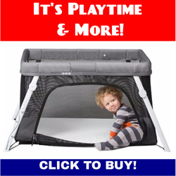 Lotus Travel Crib and Baby Playard