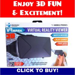 3D VR Mask!
