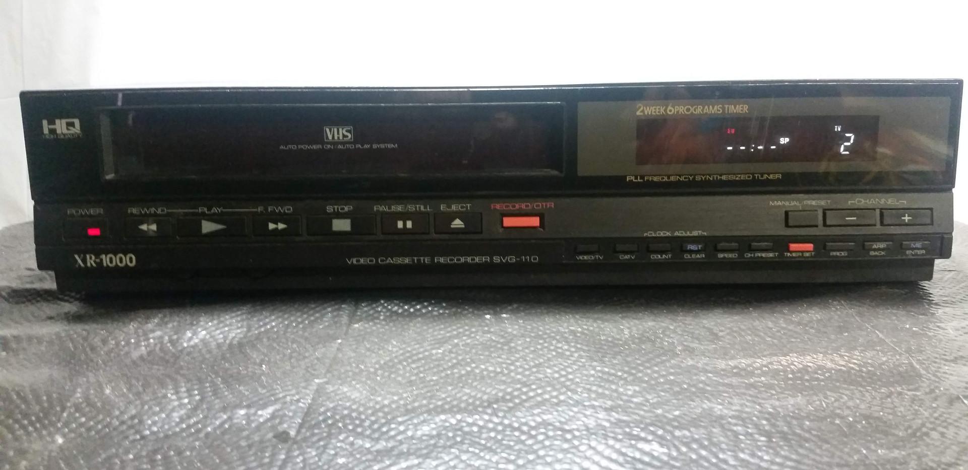 XR-1000 VHS Recorder