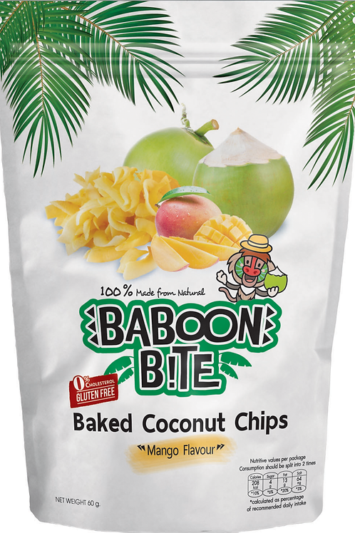 Baked Coconut Chip (Mango Flavour)