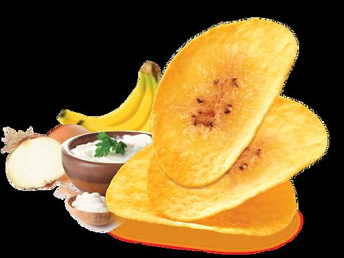 Banana Chips (Sour Cream & Onion Flavor)
