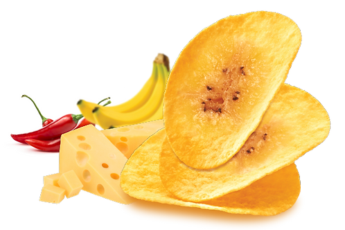 Banana Chips (Chill Cheese Flavor)