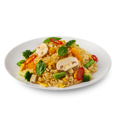 Chilli Basil Fried Rice (Vegetarian)
