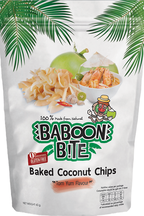 Baked Coconut Chip (Tom Yum Flavour)