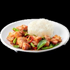 Chilli Basil Stir Fried With Rice