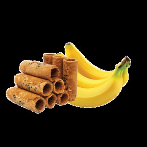 Crispy Coconut Rolls (Banana Flavor)