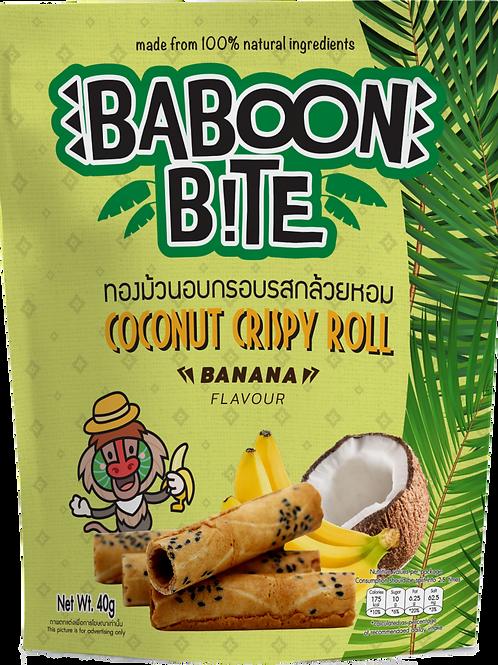 Coconut Crispy Rolls (Banana Flavour)