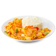 Stir Fried Curry With Rice
