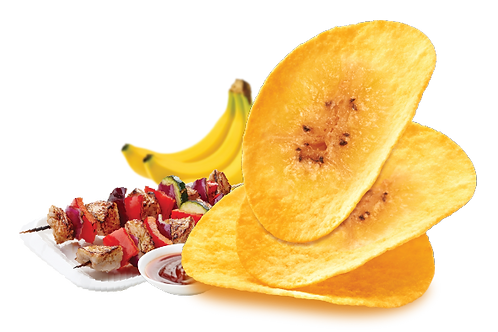 Banana Chips (BBQ Flavor)