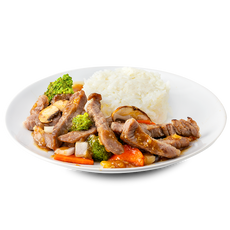 Oyster Sauce With Rice