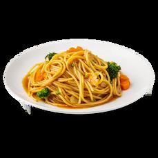Oyster Sauce Spaghetti
