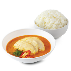 Panang Curry With Rice