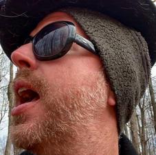 Robert in the woods
