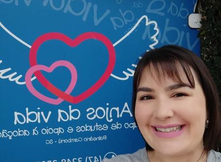 Aline Costa (CRP 12/07755) é a nova psicóloga do Grupo Anjos da Vida