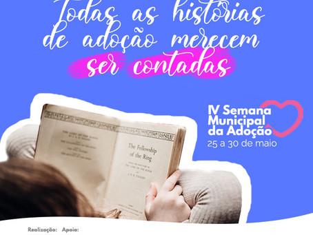 IV Semana Municipal da Adoção vai do dia 25 ao dia 30 de maio em Balneário Camboriú
