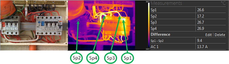 Thermal Imaging Domestic Switchboards