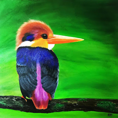 Mightly Kingfisher