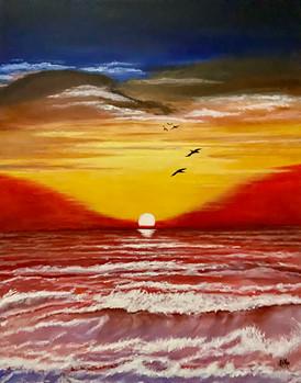 Red Sea Sunrise