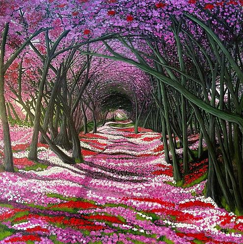 Blossomed Path